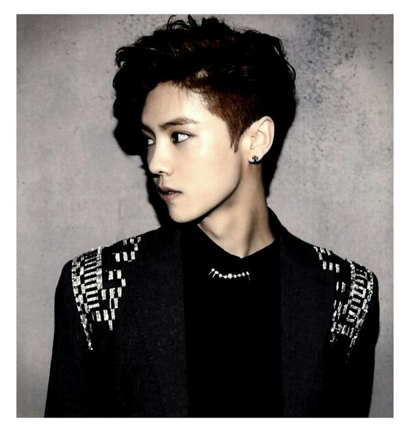 [140509] Luhan (EXO) New Picture for Overdose Polarioid Picture (Scan) by manapia12 [1]