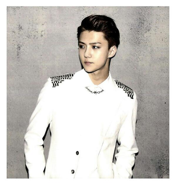 [140509] Sehun (EXO) New Picture for Overdose Polarioid Picture (Scan) by manapia12 [1] (2)