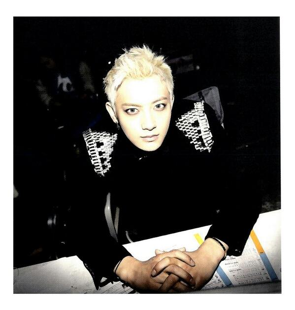 [140509] Tao (EXO) New Picture for Overdose Polarioid Picture (Scan) by manapia12 [1]