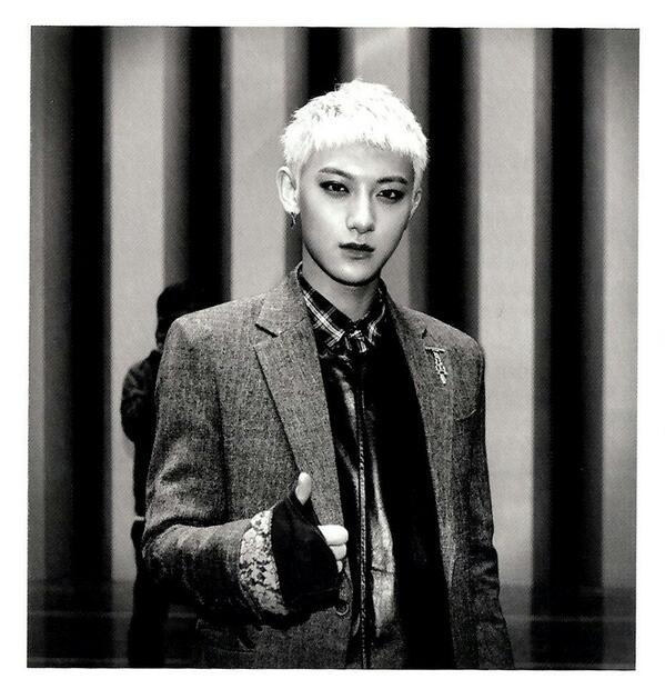 [140509] Tao (EXO) New Picture for Overdose Polarioid Picture (Scan) by manapia12 [2]