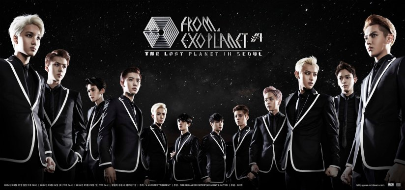 [140514] EXO New Picture for Concert From EXO Planet#1 - The Lost Planet in Seoul