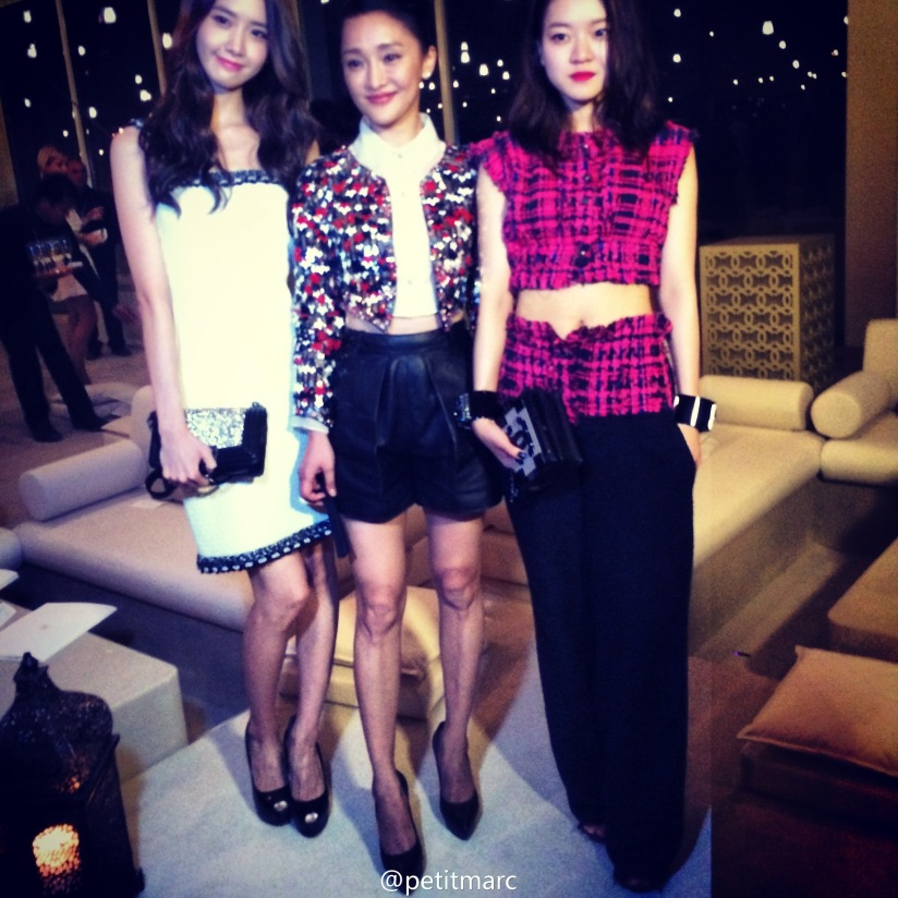 [140514] Yoona (SNSD) @ Chanel Cruise 2015 fashion show in Dubai by petitmarc [3]