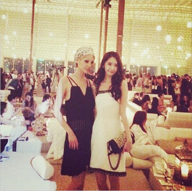 [140514] Yoona (SNSD) @ Chanel Cruise 2015 fashion show in Dubai via soojmooj