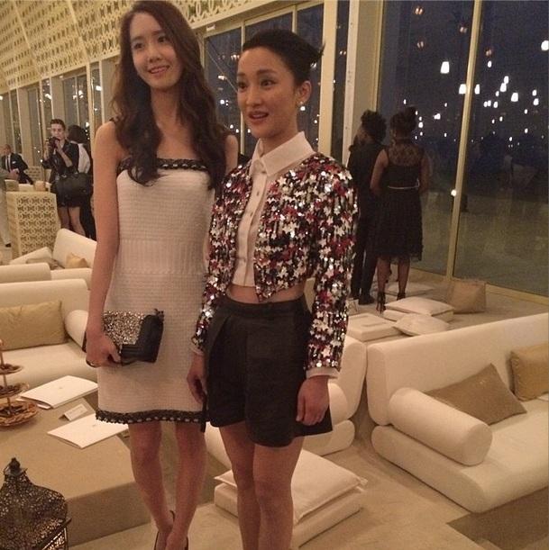 [140514] Yoona (SNSD) @ Channel Cruise 2015 Fashion Show in Dubai by harpersbazaarcn