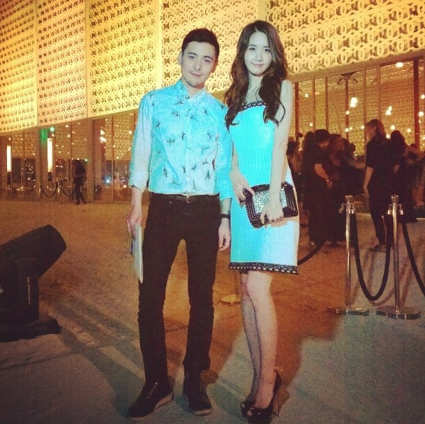 [140514] Yoona (SNSD) @ Channel Cruise 2015 Fashion Show in Dubai via gogoboi [1]