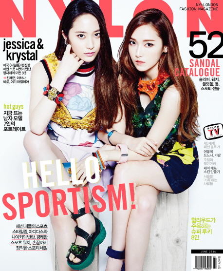 [140516] Jessica (SNSD) & Kyrstal (F(x)) @ NYLON Magazine Issue June 2014
