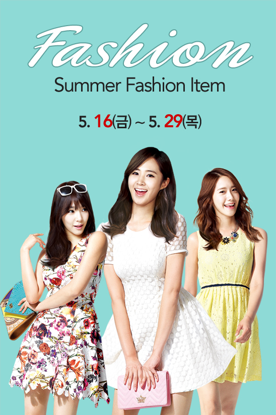 [140516] Tiffany, Yuri & Yoona (SNSD) New Picture for Lotte Department Store CF [2]