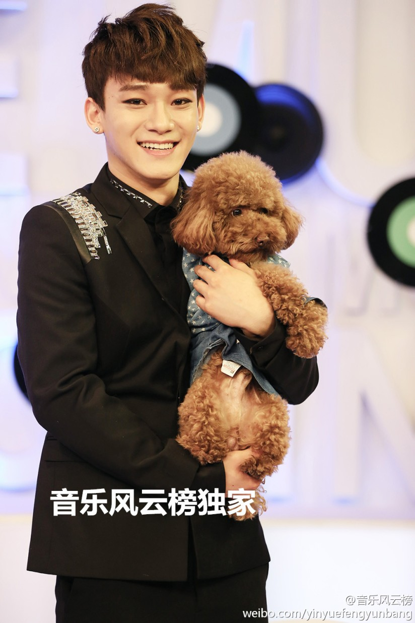 [140517] Chen (EXO) New Picture for yinyuefengyunbang [5]