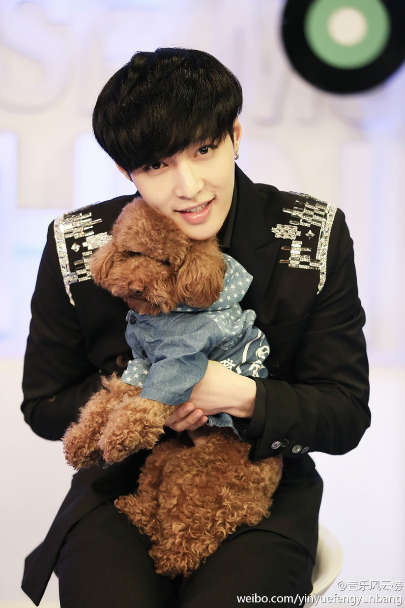 [140517] Lay (EXO) New Picture for yinyuefengyunbang [4]