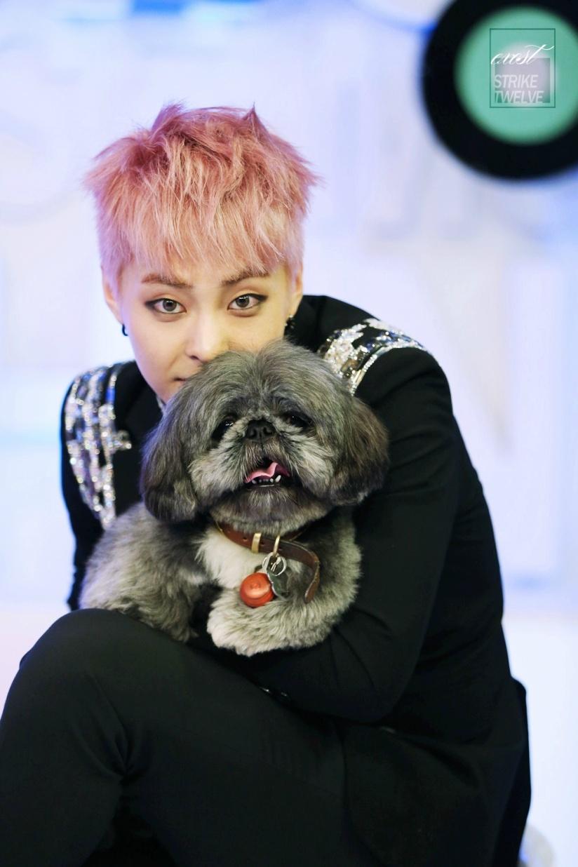 [140517] Xiumin (EXO) for Yin Yue Feng Yun Bang (音乐风云榜) by EXOST-突袭站