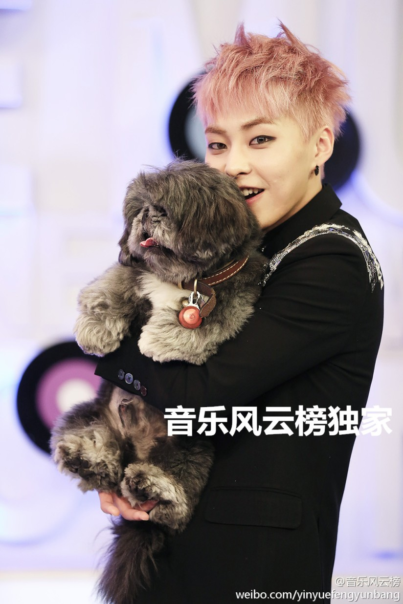 [140517] Xiumin (EXO) New Picture for yinyuefengyunbang [1]