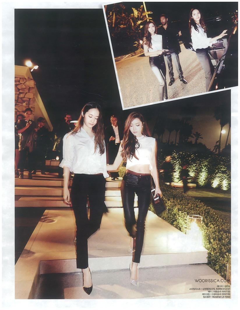 [140519] Jessica (SNSD) & Krystal (F(x)) @ W Korea Magazine Issue June (Scan) by Woorissica [10]