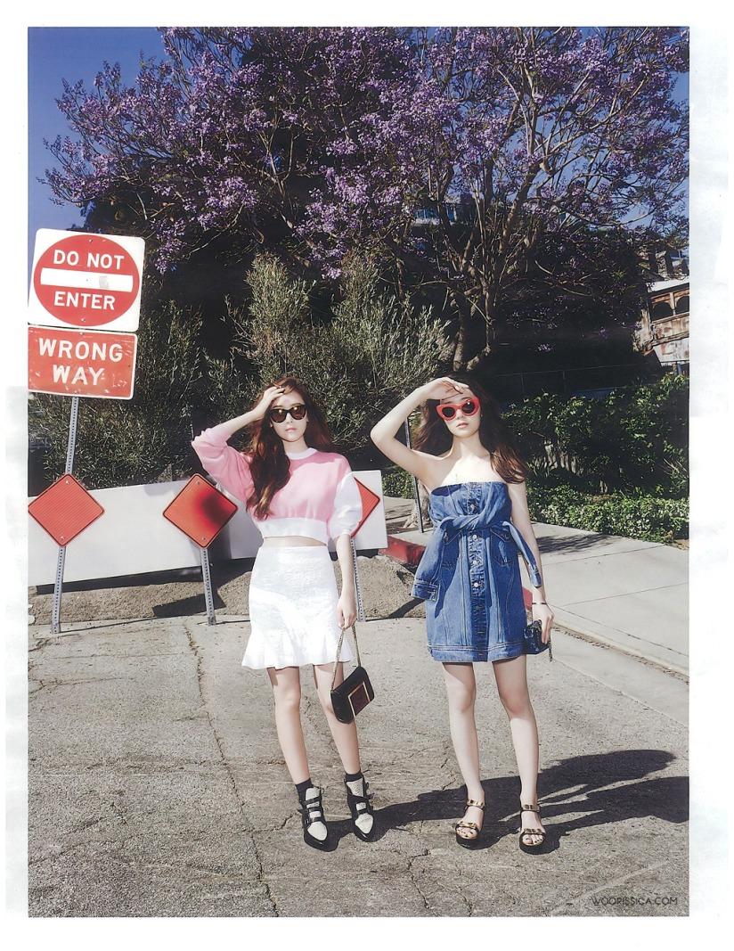 [140519] Jessica (SNSD) & Krystal (F(x)) @ W Korea Magazine Issue June (Scan) by Woorissica [3]