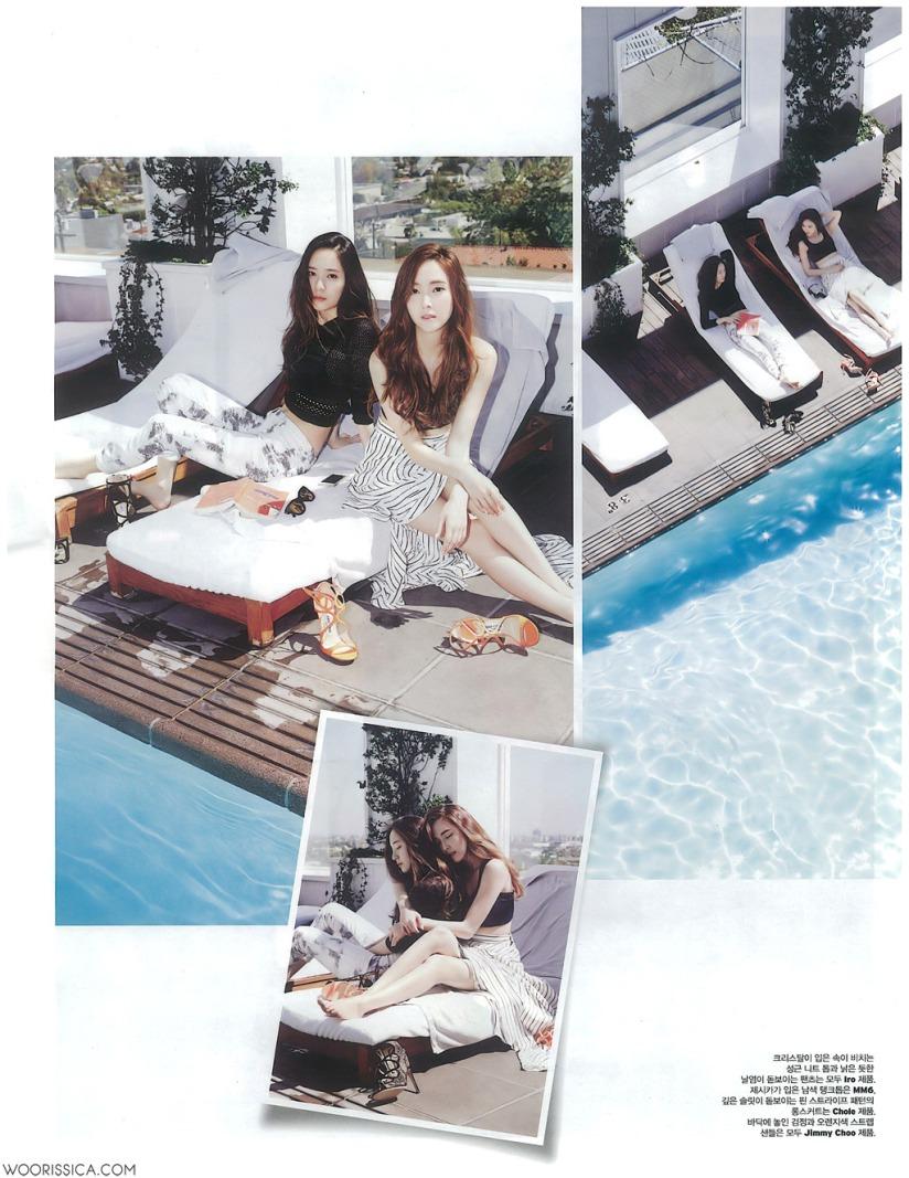 [140519] Jessica (SNSD) & Krystal (F(x)) @ W Korea Magazine Issue June (Scan) by Woorissica [6]