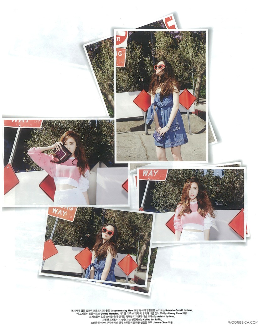 [140519] Jessica (SNSD) & Krystal (F(x)) @ W Korea Magazine Issue June (Scan) by Woorissica [7]