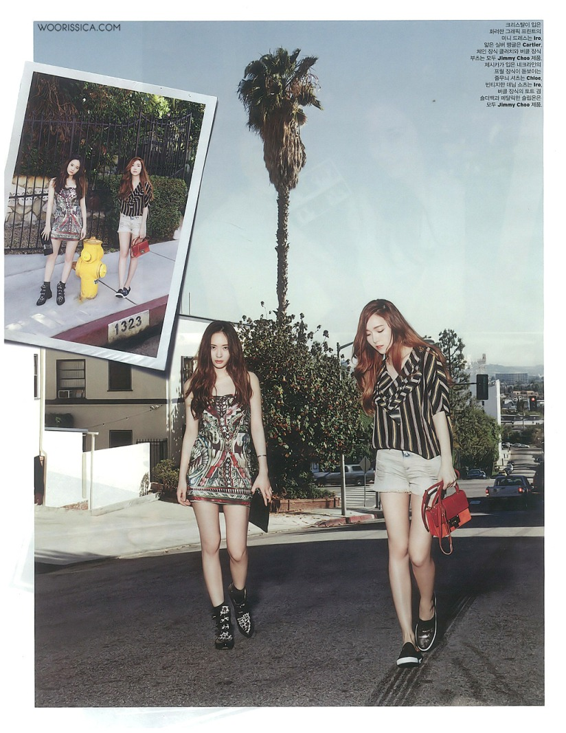 [140519] Jessica (SNSD) & Krystal (F(x)) @ W Korea Magazine Issue June (Scan) by Woorissica [8]