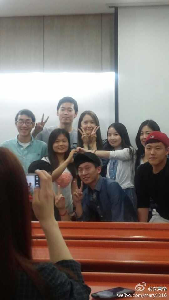 [140519] Yoona (SNSD) @ Dongguk University by 女黄帝 [11]