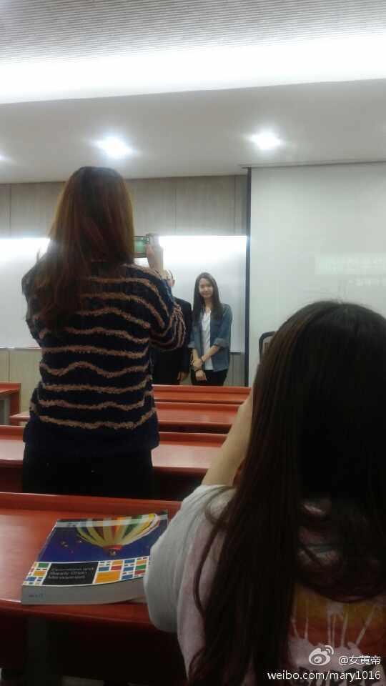 [140519] Yoona (SNSD) @ Dongguk University by 女黄帝 [12]