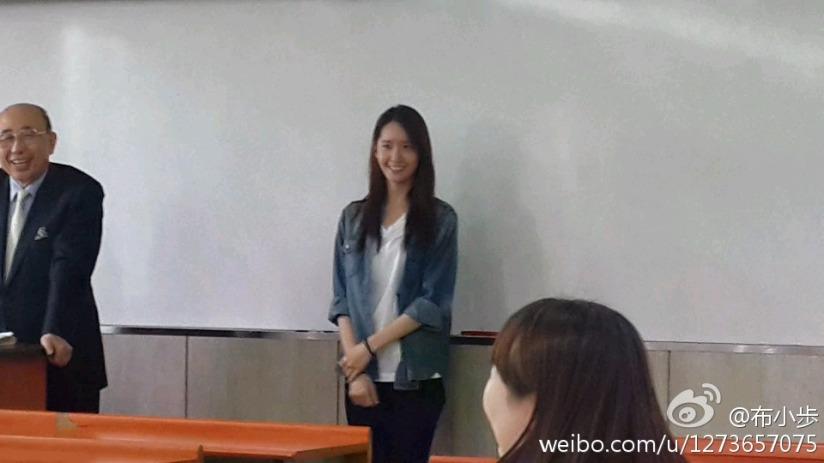[140519] Yoona (SNSD) @ Dongguk University by 布小歩 [5]
