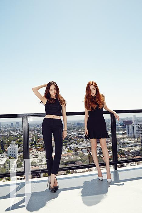 [140520] Jessica (SNSD) & Krystal (F(x)) @ W Korea Magazine Issue June [4]