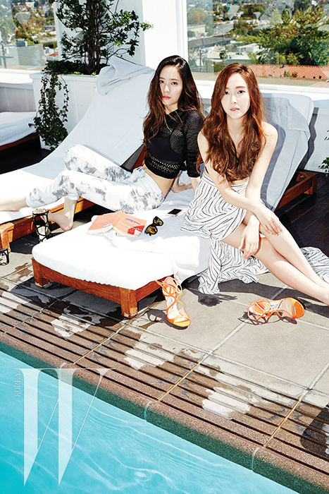 [140520] Jessica (SNSD) & Krystal (F(x)) @ W Korea Magazine Issue June [5]