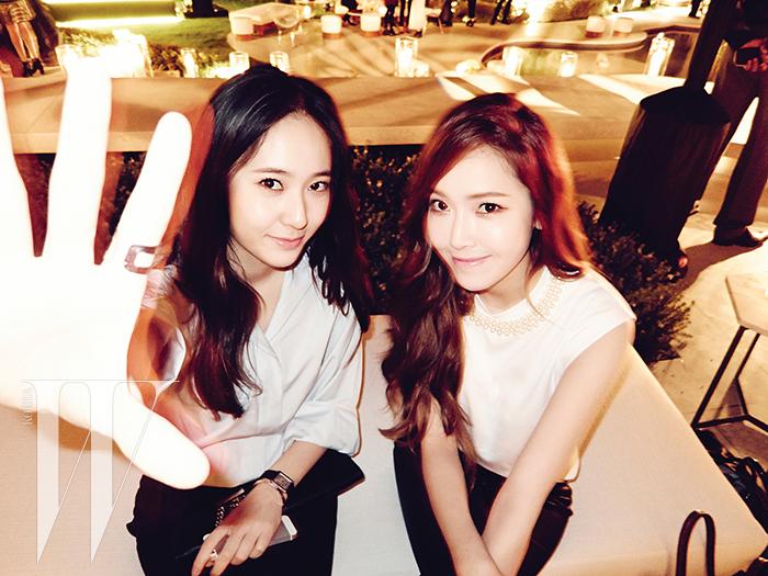 [140520] Jessica (SNSD) & Krystal (F(x)) @ W Korea Magazine Issue June [6]