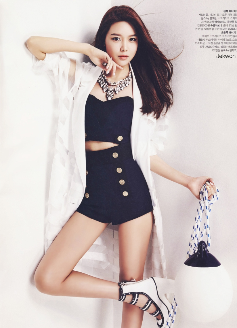 [140520] Sooyoung (SNSD) @ The Celebrity Magazine Issue June (Scan) by Jekwon [3]