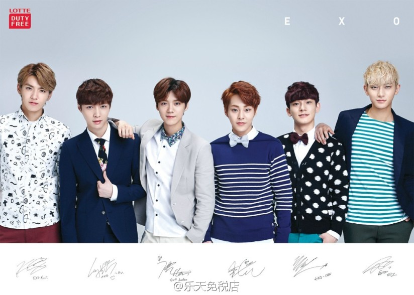 [140521] EXO-M New Picture for Lotte Duty Free CF [2]