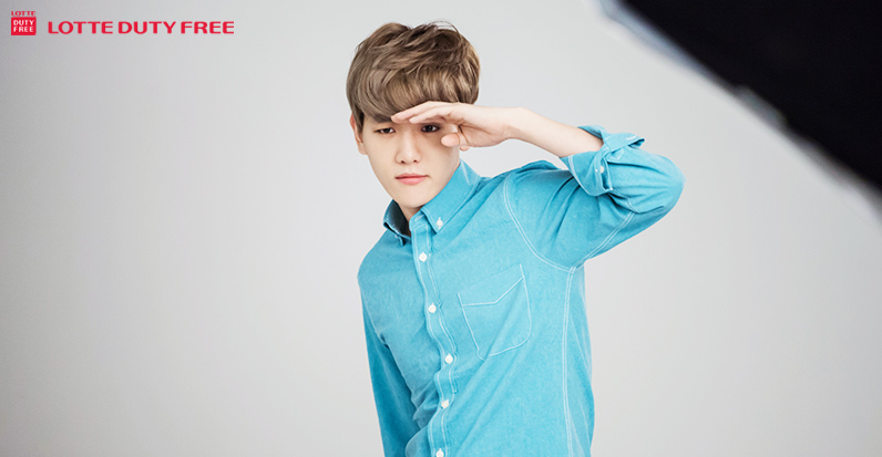 [140523] Baekhyun (EXO) New Picture for Lotte Duty Free CF [20]