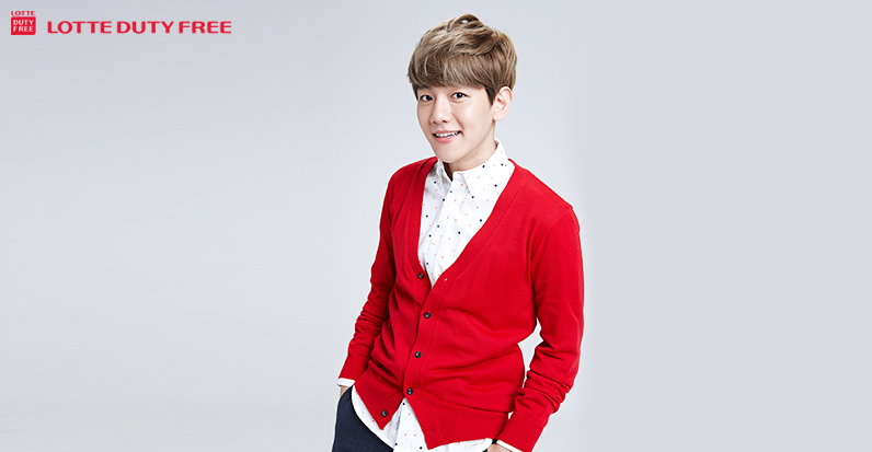 [140523] Baekhyun (EXO) New Picture for Lotte Duty Free CF [6]