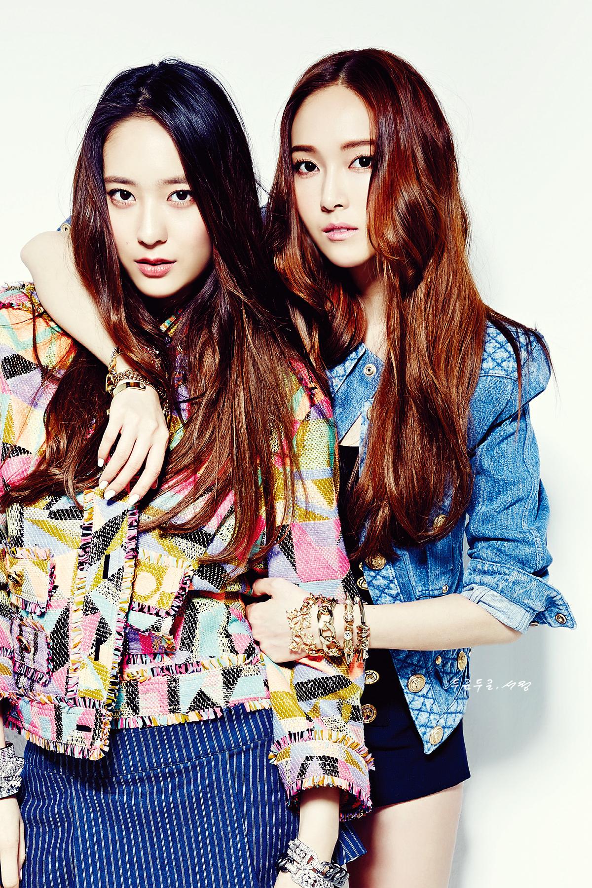 [230514] Jessica (SNSD) & Krystal (F(x)) @ NYLON Magazine ... F(x) Krystal And Jessica