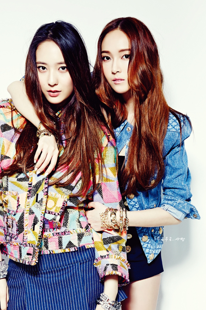 [140523] Jessica (SNSD) & Krystal (F(x)) @ NYLON Magazine Issue June (Scan) by SeoJeong [1]