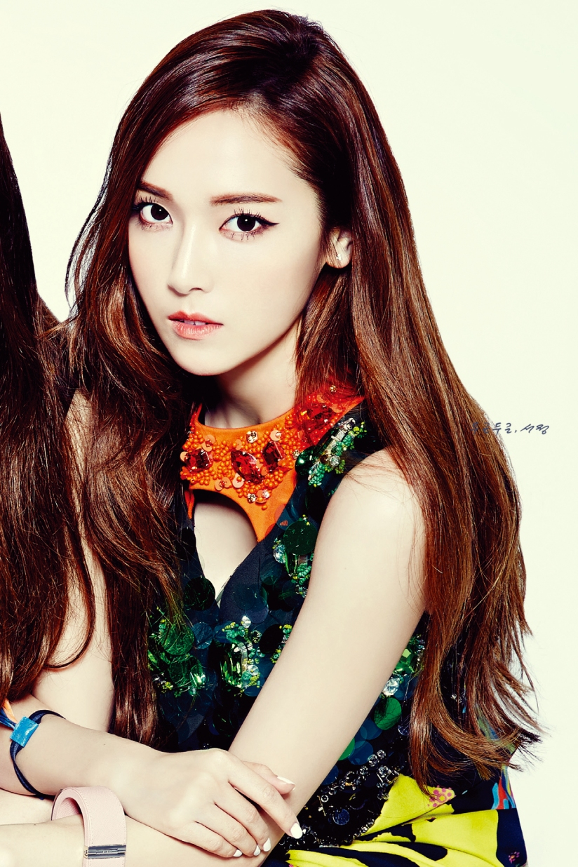 [140523] Jessica (SNSD) & Krystal (F(x)) @ NYLON Magazine Issue June (Scan) by SeoJeong [6]
