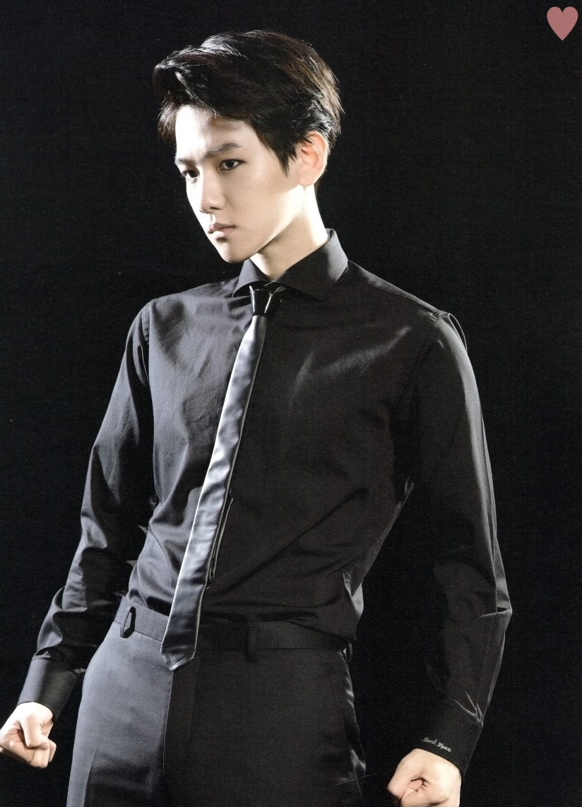 [140524] Baekhyun (EXO) New Picture for Brochure Concert EXO FROM. EXOPLANET #1 (Scan) by yehet0408 [1]