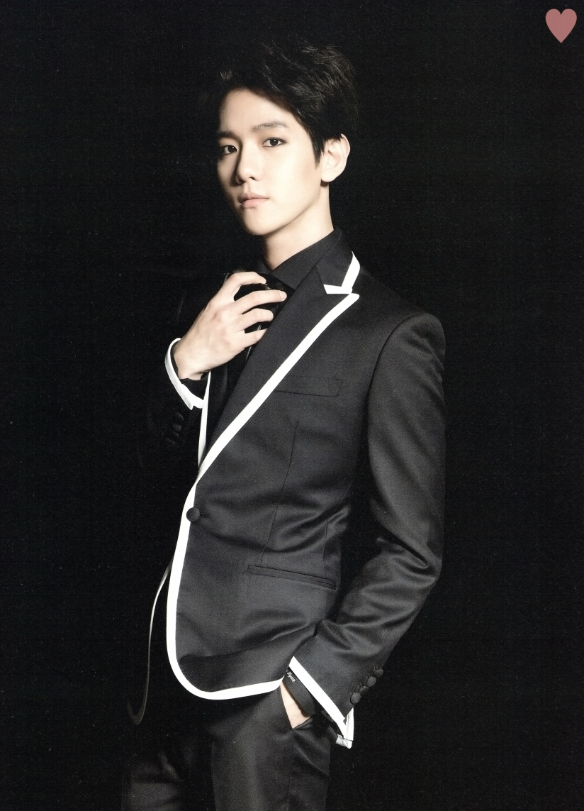 [140524] Baekhyun (EXO) New Picture for Brochure Concert EXO FROM. EXOPLANET #1 (Scan) by yehet0408 [2]