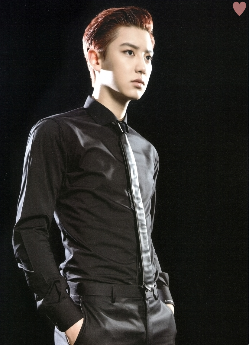 [140524] Chanyeol (EXO) New Picture for Brochure Concert EXO FROM. EXOPLANET #1 (Scan) by yehet0408 [2]