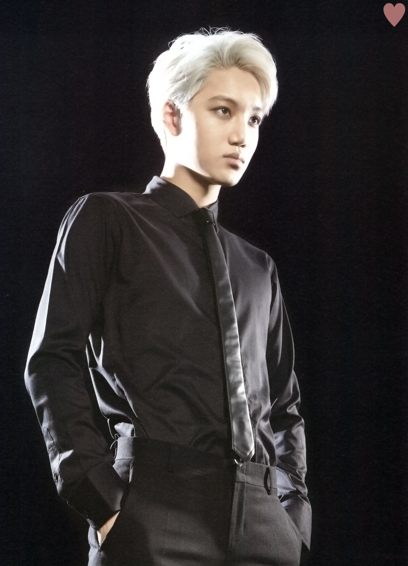[140524] Kai (EXO) New Picture for Brochure Concert EXO FROM. EXOPLANET #1 (Scan) by yehet0408 [1]