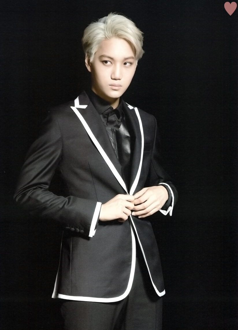 [140524] Kai (EXO) New Picture for Brochure Concert EXO FROM. EXOPLANET #1 (Scan) by yehet0408 [2]
