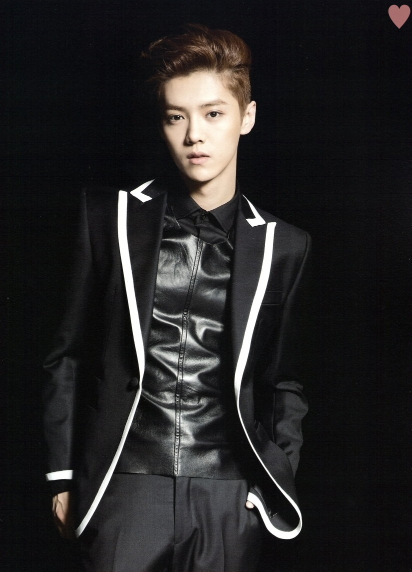 [140524] Luhan (EXO) New Picture for Brochure Concert EXO FROM. EXOPLANET #1 (Scan) by yehet0408 [1]