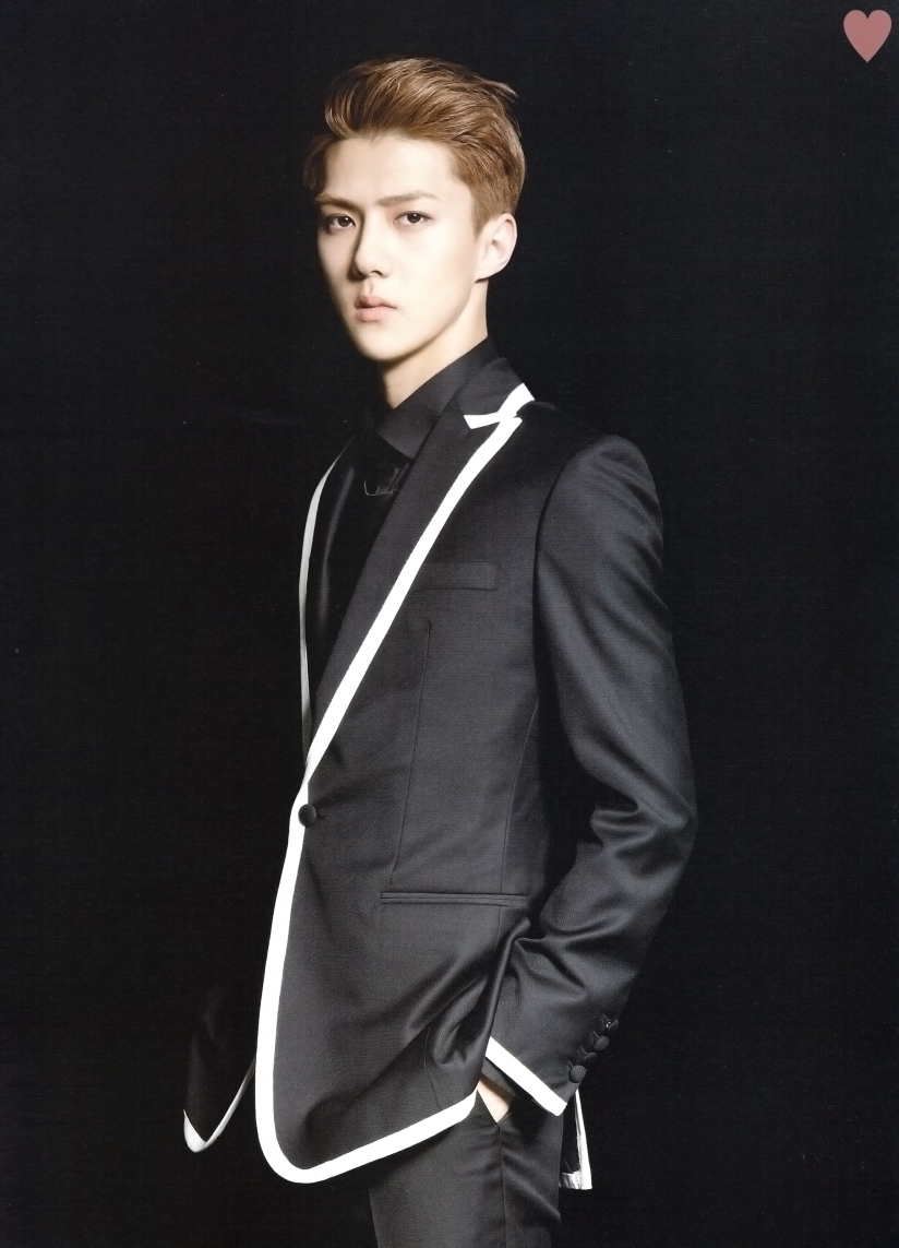 [140524] Sehun (EXO) New Picture for Brochure Concert EXO FROM. EXOPLANET #1 (Scan) by yehet0408 [1]