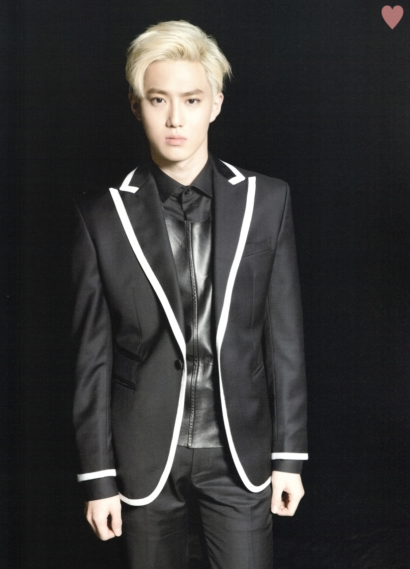[140524] Suho (EXO) New Picture for Brochure Concert EXO FROM. EXOPLANET #1 (Scan) by yehet0408 [2]