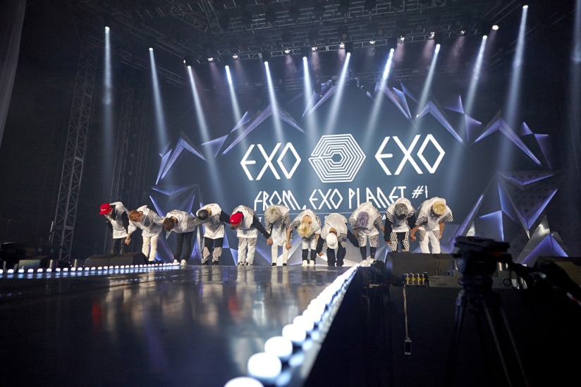 [140526] EXO FROM. EXOPLANET -THE LOST PLANET in SEOUL- via yinyuetai [1]
