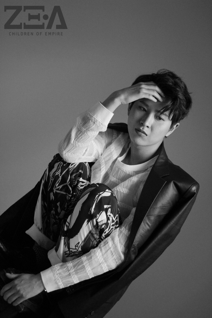 [140526] Minwoo (ZEA) New Picture for First Homme [2]