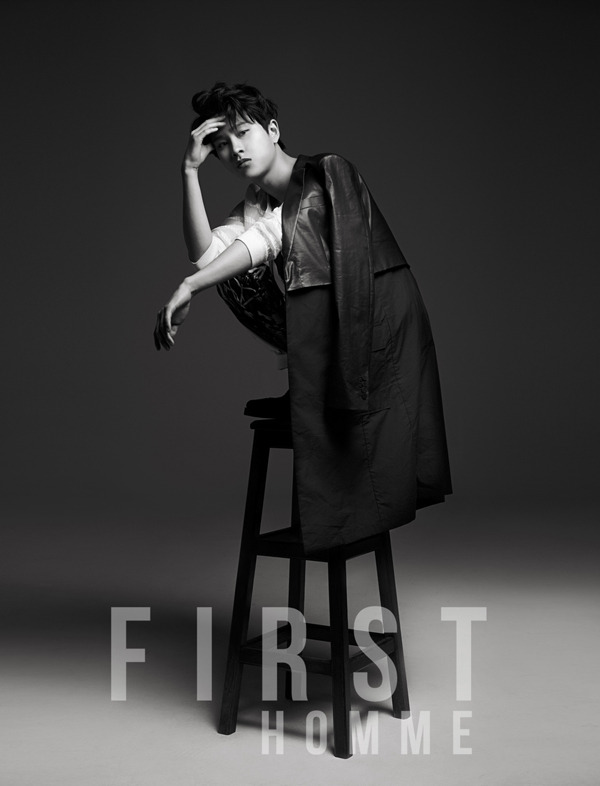 [140526] Minwoo (ZEA) New Picture for First Homme
