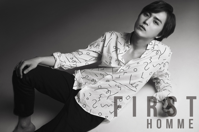 [140527] Heechul (ZEA) New Picture for First Homme