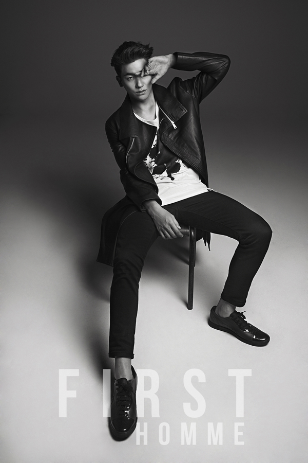[140527] Hyungsik (ZEA) New Picture for First Homme