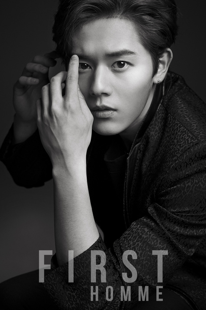 [140528] Dongjun (ZEA) New Picture for First Homme [1]