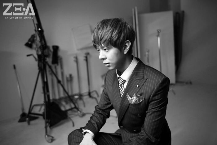 [140528] Junyoung (ZEA) New Picture for First Homme [3]