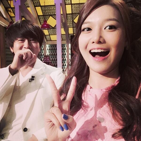 [140528] Sooyoung (SNSD) New Selca with Yoon Dohyun