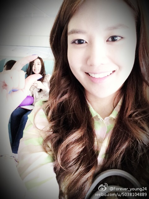 [140529] Sooyoung (SNSD) New Selca with Tiffany